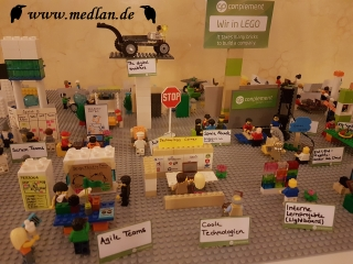 Conplement AG in Lego / .NET Day Franken 2018
