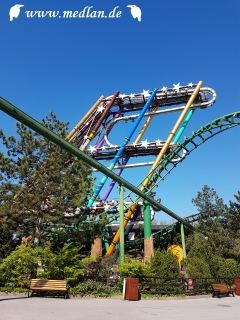 Gardaland / Sequoia Magic Loop