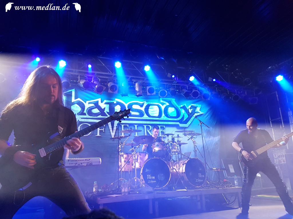 Konzert: Rhapsody Of Fire + Avalanch + Thornbridge, 06.03.2019, München