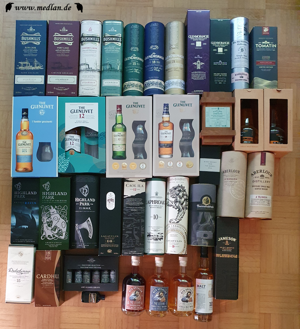 """Meine Whisky """"Sammlung"""""""